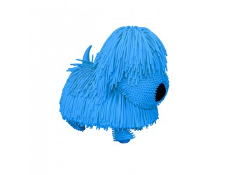 JP001-WB-B Jucarie muzicala interactiva Catelus albastru Jiggly Pup