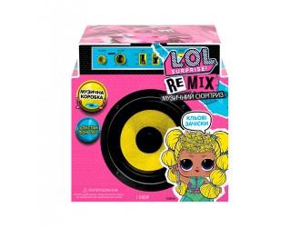 566960 Set cu papusa L.O.L. Surprise! W1 Seria REMIX HAIR FLIP muzical
