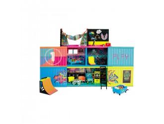 569404 Set casa L.O.L. Surprise CLUBHOUSE REMIX cu 2 papusi exclusive