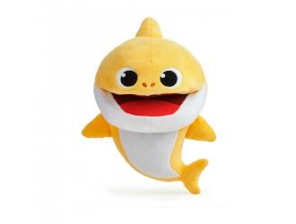 61181 Jucarie muzicala de plus Baby Shark Bebelusul Rechin diferite tempouri (se imbraca pe mana)