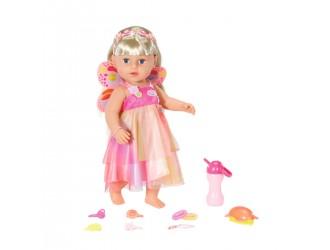 829349 Papusa Baby Born Surioara cu par lung Unicorn (43 cm, accesorii)
