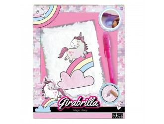 "02519 Agenda cu accesorii ""Unicorn"" GIRABRILLA"
