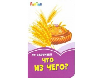 F1246007Р Сиреневые книжки: Что из чего? (17)