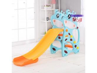 HBS18045 Tobogan giraffe blue
