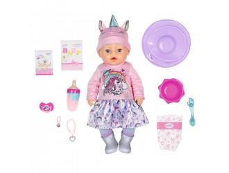 831311 Papusa bebelus Baby Born 43 cm Unicorn seria Imbratisari blande cu accesorii 053846