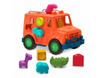 VE1029Z Set de joaca sorter Camion Safari BATTAT 053856