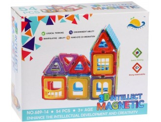 82626 Constructor cu magnet 54 piese