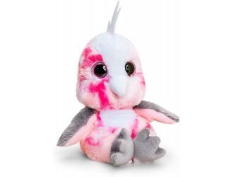 SF1636 Мягкая игрушка Animotsu 15cm Попугай розовый