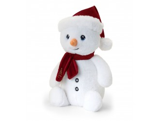 SX6376 Мягкая игрушка Keeleco Снеговик в шапке и шарфе 20 см