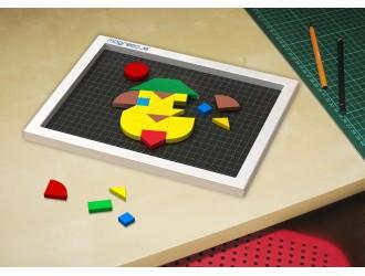 "MM-174 Magneticus  Set creatie ""Mozaic""174 el."