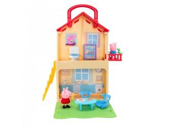 PEP0700 Игровой набор Peppa серии Раскладывай и Играй - Дом Пеппы