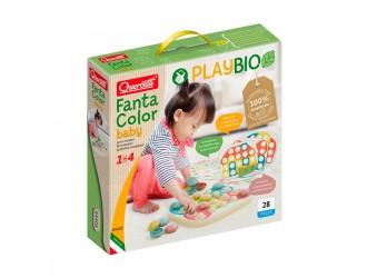 84405-Q Set mozaica Play Bio MAXI 21 piese cu support Fanta Color QUERCETTI