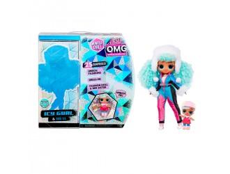 570240 Игровой набор с куклой L.O.L. Surprise! серии O.M.G Winter Chill – Ледяная Леди