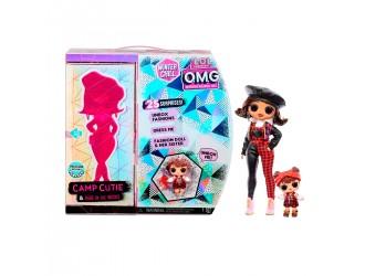 570257 Игровой набор с куклой L.O.L. Surprise! серии O.M.G Winter Chill – Очаровашка