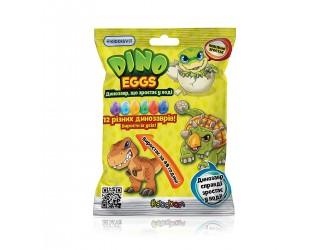 T110-2018-CDU Растущая игрушка в яйце «Dino Eggs» -Динозавры (12 шт., в дисплее)