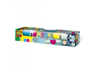 00461S Незасыхающая масса для лепки - Неон