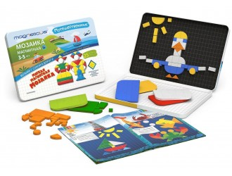 """MMT-245 Magneticus  Set creatie """"Mozaic"""" 245 el."""