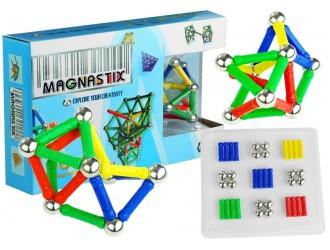 658 Set constructor magnetic Magnastix 60 elemente