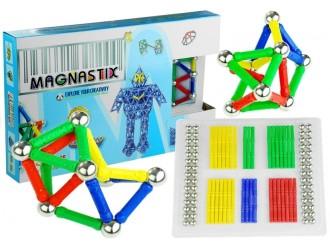 659 Set constructor magnetic Magnastix 188 elemente