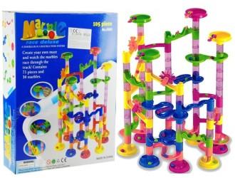 1046 Set constructor Labirint cu bilute 105 elemente