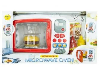 1306 Микроволновая печь со звуком и огнями