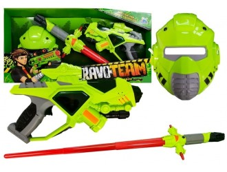 4310 Set de joaca echipament cu pistol, sabie si masca