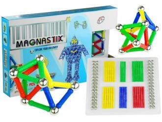 4456 Set constructor magnetic Magnastix 136 elemente