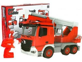 7250 Jucarie Masina Pompieri DIY cu telecomanda RC