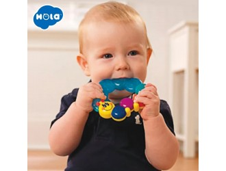 """Hola Toys 306D Inel gingival """"Caterpillar"""""""