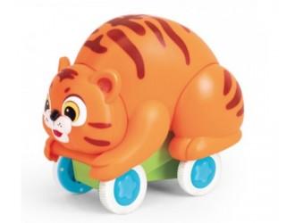 "Hola Toys 3120A/B Jucarie inertiala ""Tiger/Panda"" in sort."