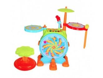 Hola Toys 3130 Tambur cu muzica si lumina