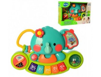 "Hola Toys 3135 Jucarie-pian ""Elefant"""