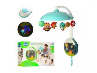 Hola Toys1105 Carusel muzical cu proiector
