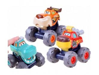 """Hola Toys 3151 Set de masini inertiale """"Monster Trucks"""""""