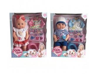 Yale Baby OP ДД01.196 Papusa cu accesorii  in sort.