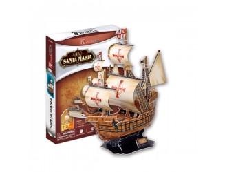 3005504 3D PUZZLE Santa Maria schooner