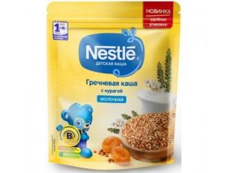 Nestle Каша молочная гречневая с курагой 220 гр. (5 м+)