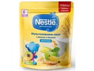 Nestle Terci multicereale cu lapte Mere-banane 220 gr. (6 m+)