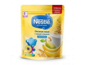 Nestle Terci de lapte de ovaz cu pere si banane 220 gr. (6 m +)