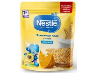 Nestle Terciul de grau din lapte cu dovleac 220 gr. (5 m +)
