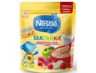 Nestle Terci 5 cereale din lapte Шагайка capsuni-mere-zmeura 220 gr. (12 m+)