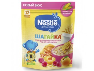 Nestle Terci Muliticereale Шагайка miere-caisa-zmeura 190 gr. (12 m +)