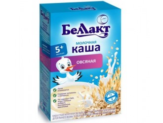 Беллакт terci de ovaz cu lapte (5m +) 200 gr.