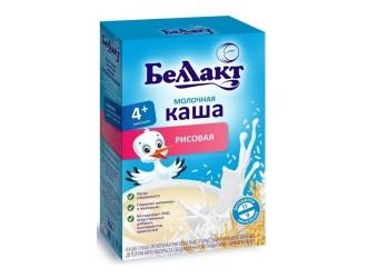 Беллакт terci de orez cu lapte (4m+) 200 gr.