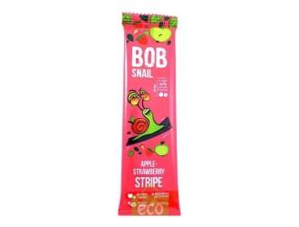 """Bob Snail Bomboane naturale """"Mere-Capsuni"""" (14 gr.)"""