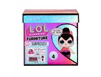572619 Игровой набор с куклой L.O.L. Surprise! серии Furniture - Перчинка