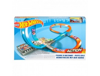 GGF92 Hot Wheels Set Action Fig 8 Race