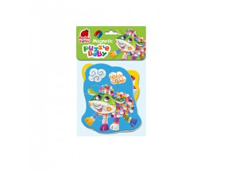 """RK5020-02 Baby Puzzle magnetic """"Oita-Purcelus"""" Roter Kafer"""