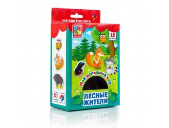 "VT3106-06 Set magneti ""Lumea mea.Locuitorii Padurii"" l. rusa Vladi Toys"
