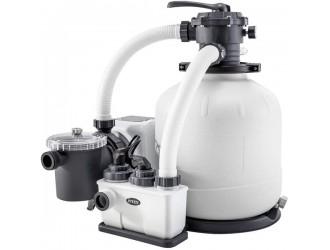 26680 Filtru-Pompa Nisip cu Clorgenerator KRYSTAL CLEAR 10000L/ora
